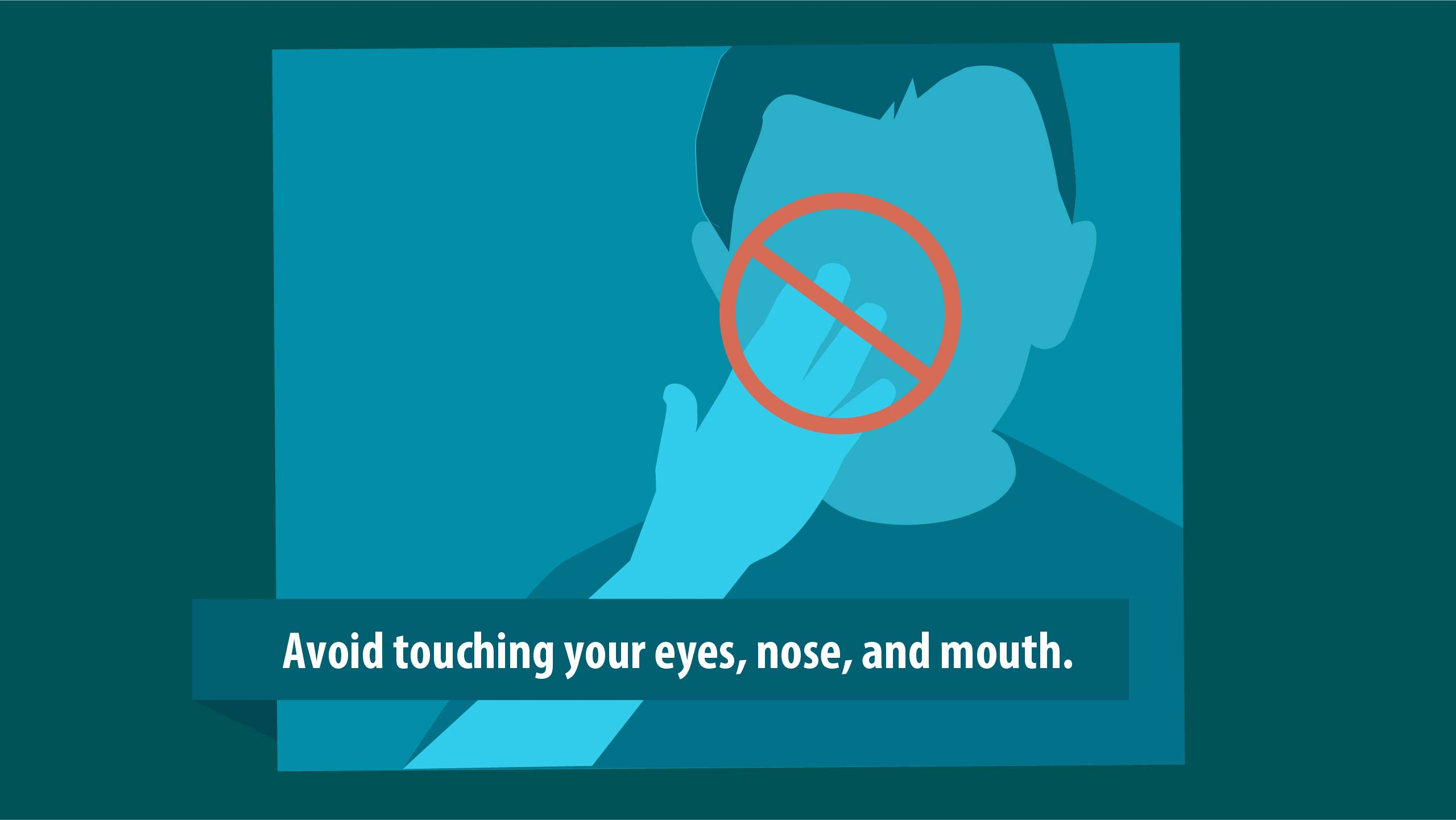 AVOID TOUCHING YOUR EYES GRAPHIC